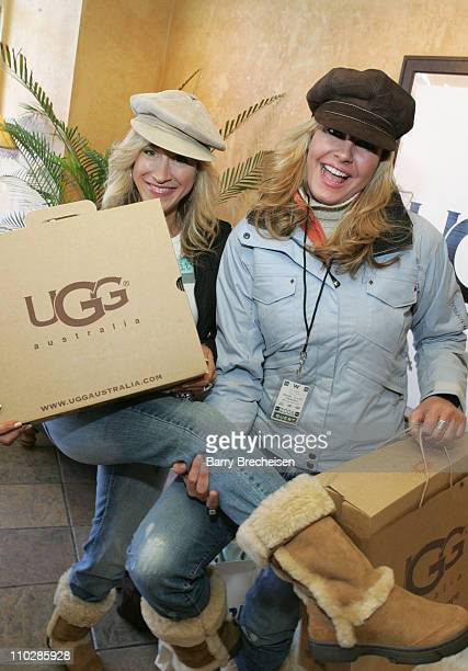 Lisa Ann Walter and Kristen Kirchner at Ugg during 2006 Park City Ugg at Village at The Lift Day 1 at Village at the Lift in Park City Utah United...