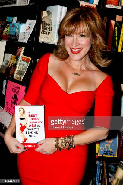 Lisa Ann Walter arrives to her book signing for The Best Thing About My Ass Is That It's Behind Me at Book Soup in West Hollywood California on June...