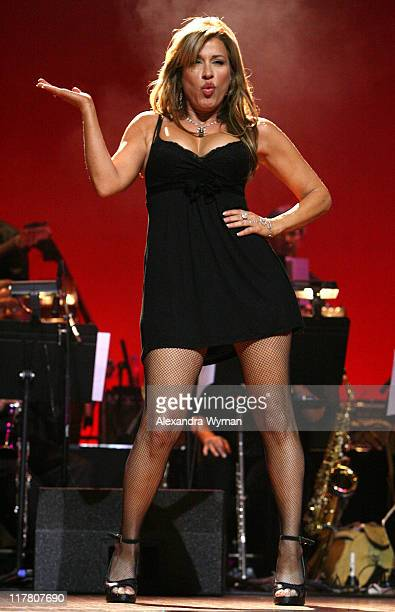 Lisa Ann Walter during 2007 What a Pair Benefiting the John Wayne Cancer Institute Show at The Orpheum Theatre in Los Angeles California United States