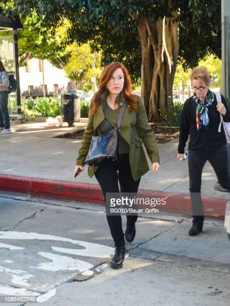 Lisa Ann Walter is seen on January 19 2019 in Los Angeles California