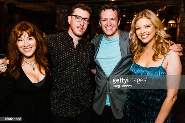 Lisa Ann Walter Pascal CombesKnoke Tom Malloy and Hilary Barraford attend Hilary Barraford's Birthday Party held at Madame Siam on April 26 2019 in...