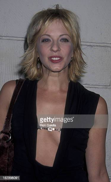 Lisa Arturo attends the world premiere of 40 Days and 40 Nights on February 20 2002 at Mann Festival Theater in Westwood California