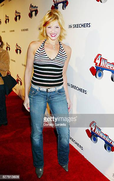 Lisa Arturo during 4 Wheelers By Skechers Arrivals at The Hollywood Palladium in Hollywood California United States