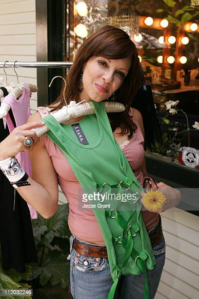 Lisa Arturo during KARI FEINSTEIN PR Presents STYLE LOUNGE Benefiting Project Angel Food Day 2 in Los Angeles California United States