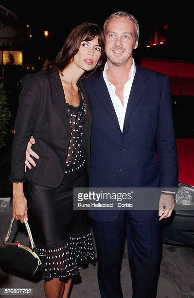 Lisa B and boyfriend attend the launch party for a new Jimmy Choo concession at Harvey Nichols.