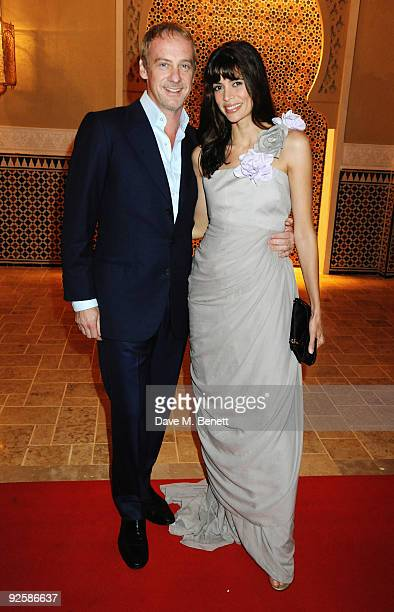 Lisa B and husband Anton Bilton arrives for the grand opening night of the Kerzner Mazagan Beach Resort on October 31 2009 in El Jadida Morocco 1500...