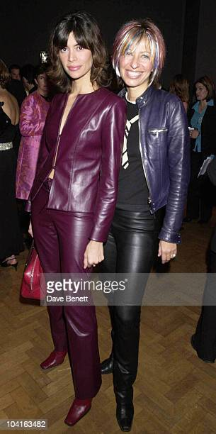 Lisa B And Maya Fiennes Marie And Eddie Jordan Hosted The Clic Charity Auction At Christies In St James London And Raised Over A Hundred Thousand...