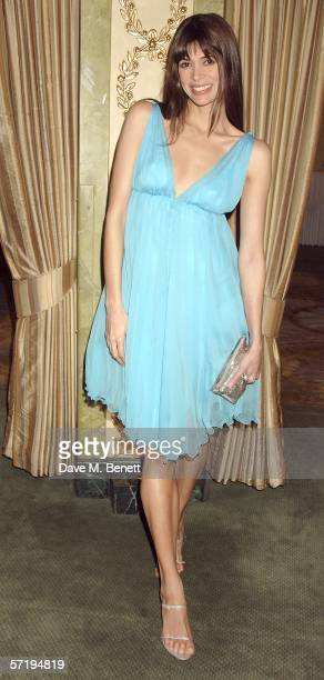 Lisa B attends the FiFi Awards which recognise the best fragrance launches in the previous year at The Dorchester on March 27 2006 in London England...