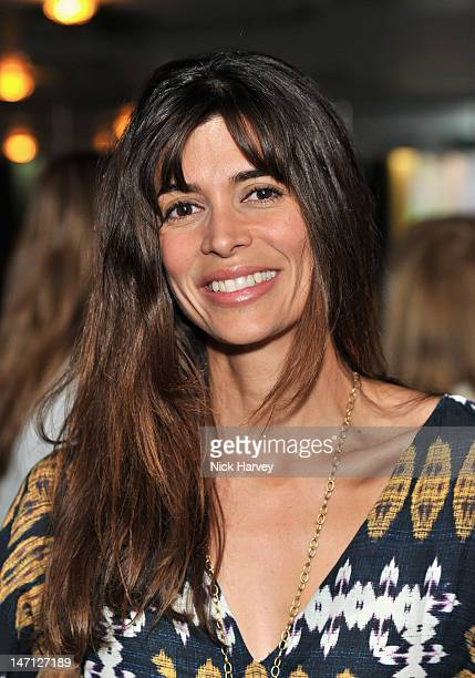 Lisa B attends the launch of Jax Coco coconut water at Harvey Nichols on June 25, 2012 in London, England.