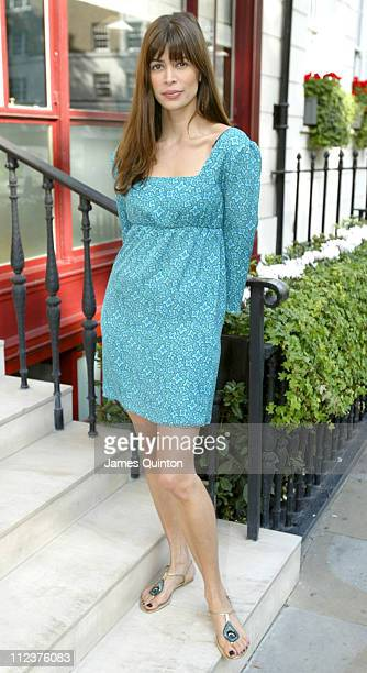 Lisa B during 2005 InStyle Shopping Awards Winners Lunch at Morton's in London Great Britain