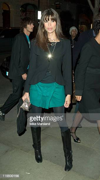 Lisa B during Burns Night Celebrity Dinner at St Martin's Lane Hotel London WC2 in London Great Britain