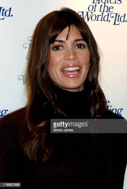 Lisa B during Leading Hotels of the World Party at The Dorchester in London Great Britain