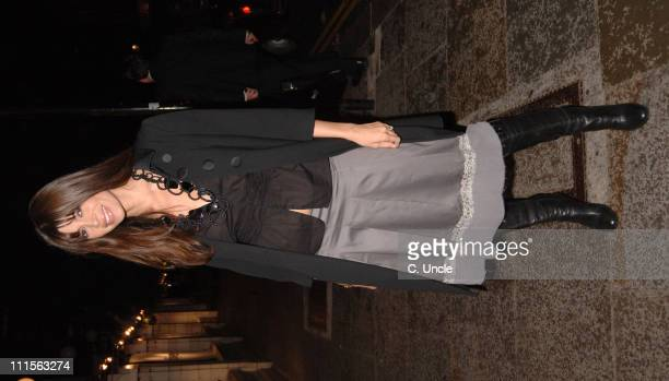 Lisa B during Mail on Sunday Live Magazine ReLaunch Party at Bluebird in London Great Britain