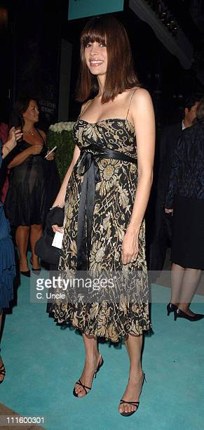 Lisa B during Tiffany Co Store Relaunch Party Arrivals at Old Bond Street in London Great Britain