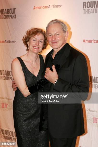 Lisa Banes and Victor Garber attend Opening Night of Present Laughter at American Airlines Theater on January 21 2010 in New York City