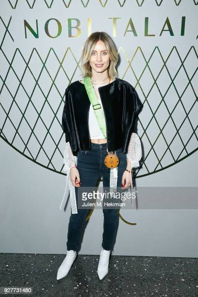 Lisa Banholzer attends the Nobi Talai show as part of the Paris Fashion Week Womenswear Fall/Winter 2018/2019 on March 5 2018 in Paris France