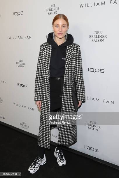 Lisa Banholzer attends the William Fan Defile during 'Der Berliner Salon' Autumn/Winter 2019 at Knutschfleck on January 15 2019 in Berlin Germany