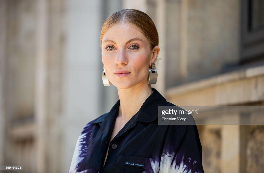 Street Style - Berlin Fashion Week - July 01, 2019 : Photo d'actualité
