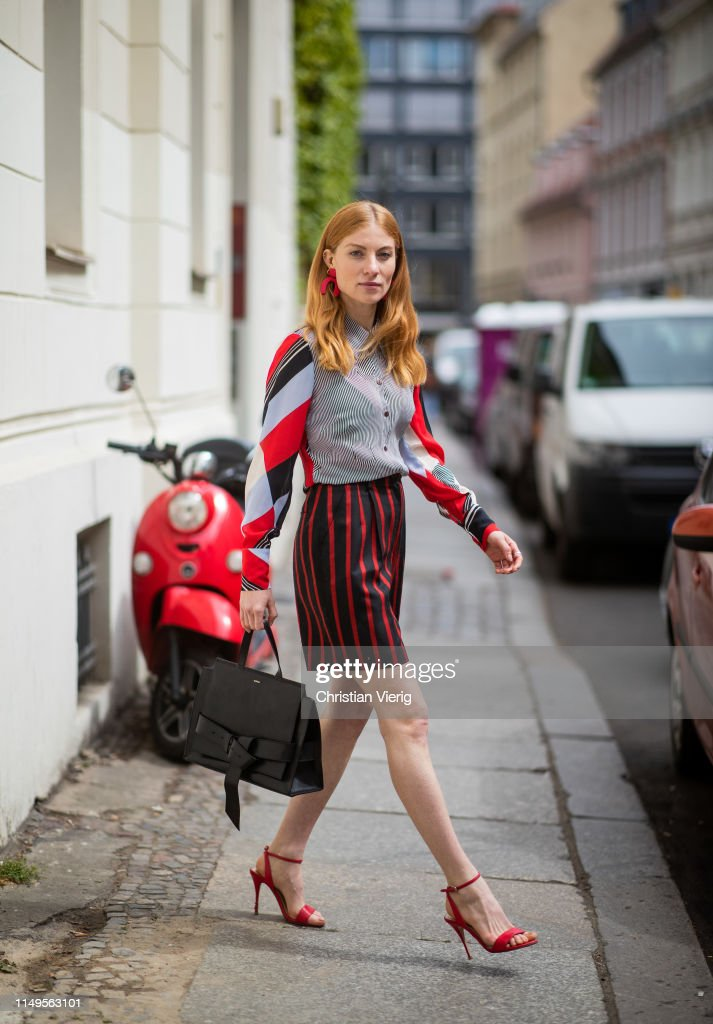 DEU: Street Style - Berlin - May 15, 2019