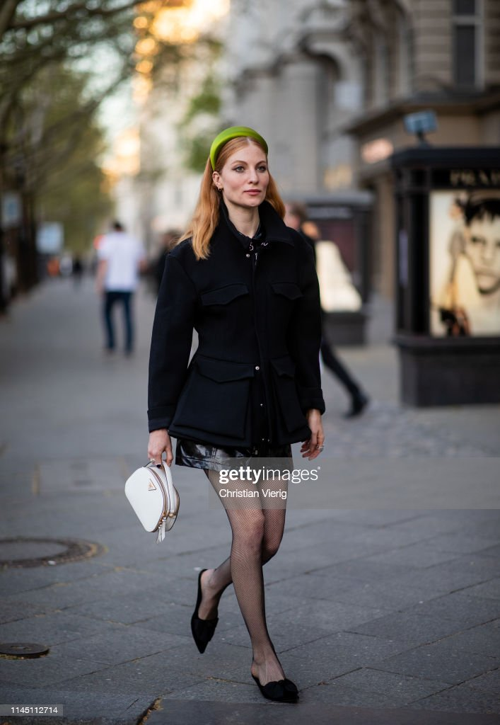 DEU: Street Style - Berlin - April 25, 2019