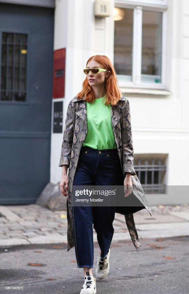 Street Style - Berlin - November 14, 2018 : News Photo