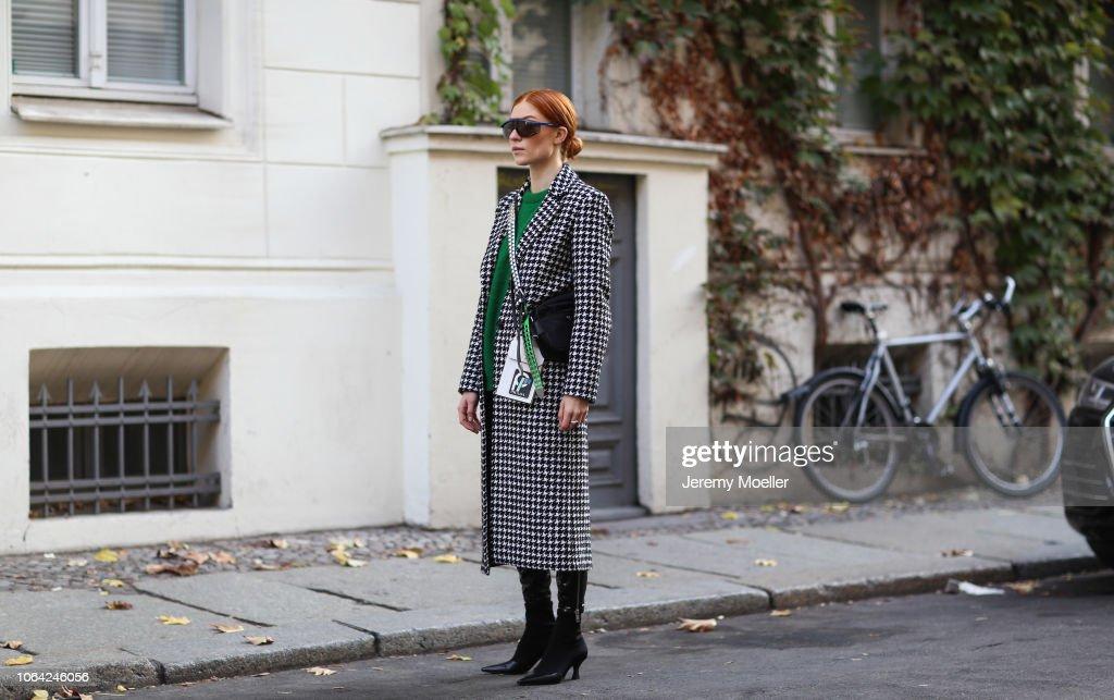 Street Style - Berlin - October 28, 2018 : Fotografía de noticias