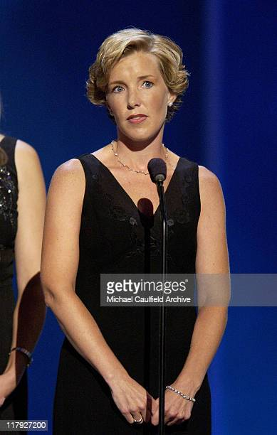 Lisa Beamer during 2002 ESPY Awards Show at The Kodak Theater in Hollywood California United States