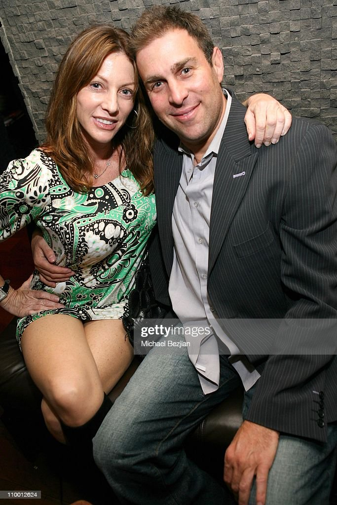 Lisa Benbrarruche and Stewart Rawitt during Grand Opening of Empress Restaurant in Los Angeles at Empress Restaurant in West Hollywood, California, United States.