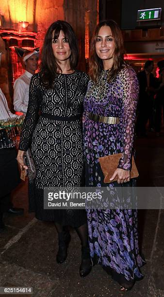 Lisa Bilton and Yasmin Le Bon attend the Save The Children Winter Gala at The Guildhall on November 22 2016 in London England