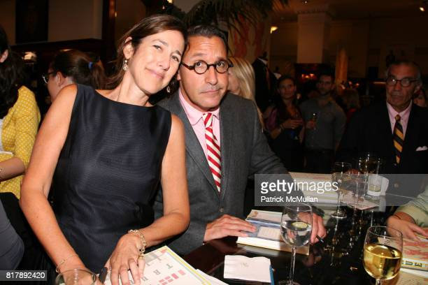 Lisa Birnbach and Chip Kidd attend The launch of 'True Prep' at Brooks Brothers on September 14 2010 in New York