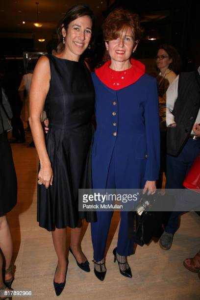 Lisa Birnbach and Ivy Baer Sherman attend The launch of 'True Prep' at Brooks Brothers on September 14 2010 in New York