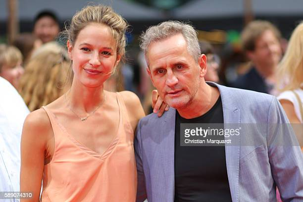 Lisa Bitter and Tim Wilde attendsConniCo World Premiere at Cinestar Potsdamer Platz on August 13 2016 in Berlin Germany