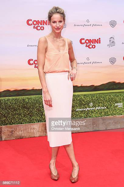 Lisa Bitter attends ConniCo World Premiere at Cinestar Potsdamer Platz on August 13 2016 in Berlin Germany