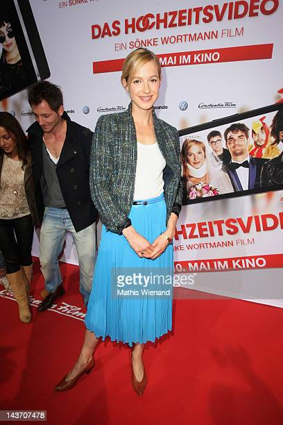 Lisa Bitter attends the 'Das Hochzeitsvideo' World Premiere at Cinedome Cologne on May 2 2012 in Cologne Germany