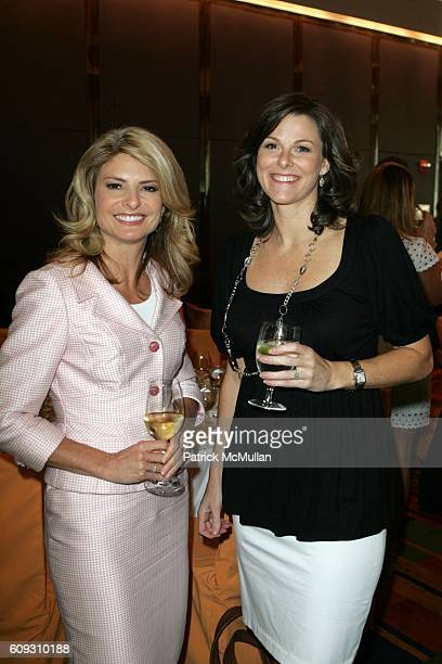 Lisa Bloom and Campbell Brown attend MARTHA STEWART SIRIO MACCIONI and ANDREW BORROK Host a Lucheon to Celebrate 'NO RESERVATIONS' at Le Cirque on...
