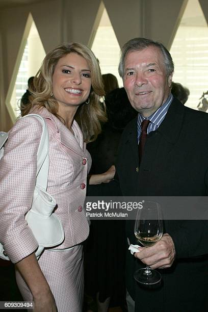 Lisa Bloom and Jacques Pepin attend MARTHA STEWART SIRIO MACCIONI and ANDREW BORROK Host a Lucheon to Celebrate 'NO RESERVATIONS' at Le Cirque on...