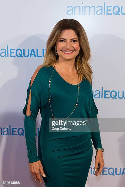 Lisa Bloom arrives at the Animal Equality 10th Anniversary Celebration Honoring Moby at At The P on November 19 2016 in Los Angeles California