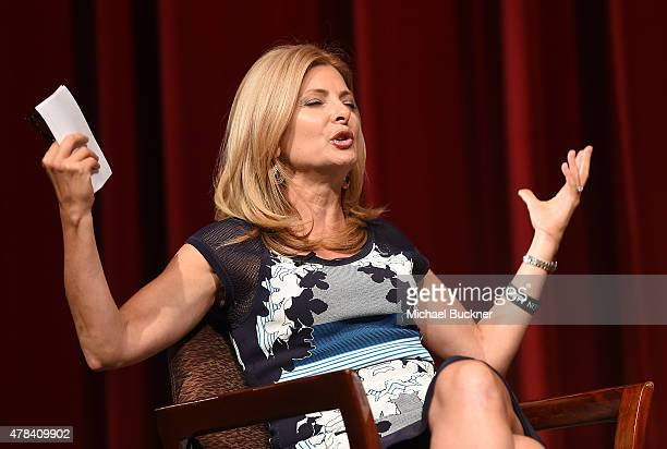 Lisa Bloom attends the world premiere of 'UNITY' at the DGA Theater on June 24 2015 in Los Angeles California