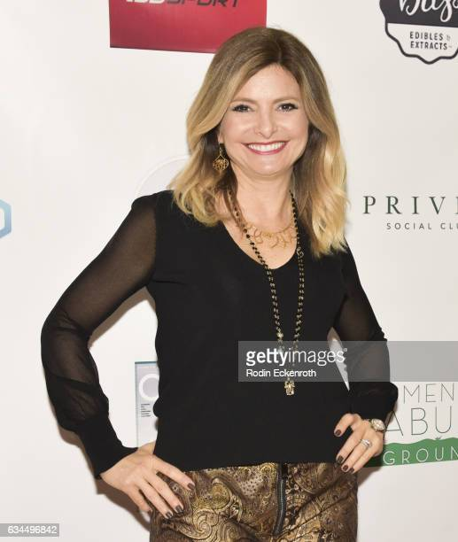 Lisa Bloom attends Women Abuv Ground's CannaCool Lounge at Casa Vertigo on February 9 2017 in Los Angeles California