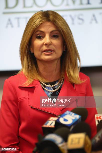 Lisa Bloom lawyer for Montia Sabbag speaks regarding the alleged attack on her client's character after accusations that Sabbag attempted to extort...