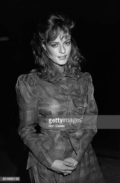 Lisa Blount attends 'Murder Me Murder You' Wrap Party on April 6 1983 at Ma Maison Restaurant in Hollywood California