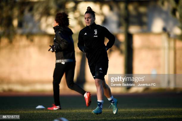 Lisa Boattin during the Juventus Women Training Session on December 6 2017 in Turin Italy