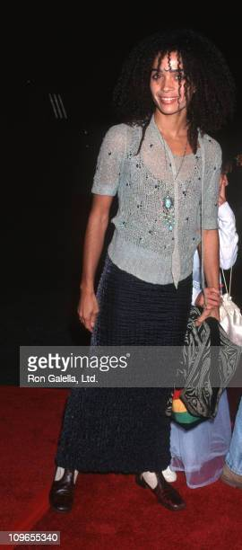 Lisa Bonet and daughter during Cinderella Release on Video at Walt Disney Studios in Burbank California United States
