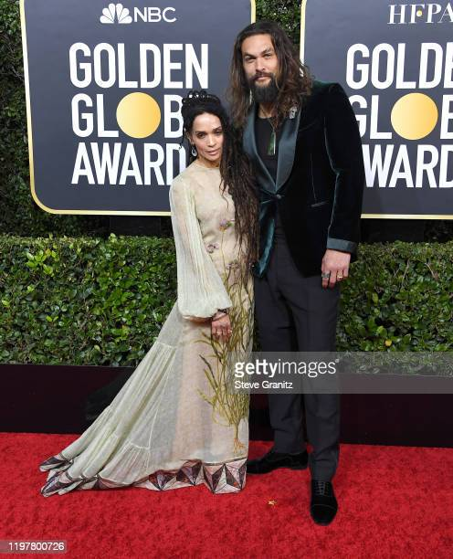 Lisa Bonet and Jason Momoa arrives at the 77th Annual Golden Globe Awards attends the 77th Annual Golden Globe Awards at The Beverly Hilton Hotel on...