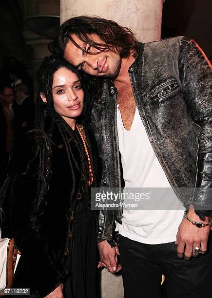Lisa Bonet and Jason Momoa at Entertainment Weekly's Party to Celebrate the Best Director Oscar Nominees held at Chateau Marmont on February 25 2010...