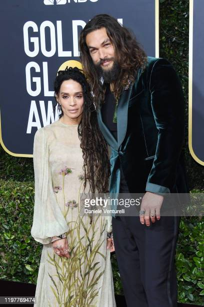 Lisa Bonet and Jason Momoa attend the 77th Annual Golden Globe Awards at The Beverly Hilton Hotel on January 05 2020 in Beverly Hills California