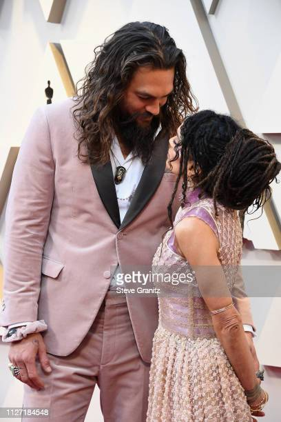 Lisa Bonet and Jason Momoa attend the 91st Annual Academy Awards at Hollywood and Highland on February 24 2019 in Hollywood California