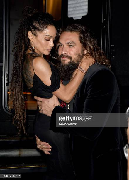 Lisa Bonet and Jason Momoa attend the premiere of Warner Bros Pictures' Aquaman at TCL Chinese Theatre on December 12 2018 in Hollywood California