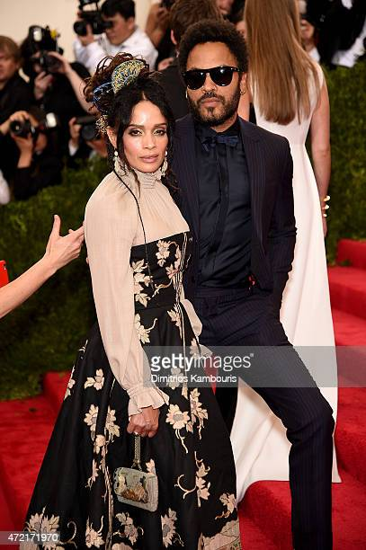 Lisa Bonet and Lenny Kravitz attend the China Through The Looking Glass Costume Institute Benefit Gala at the Metropolitan Museum of Art on May 4...
