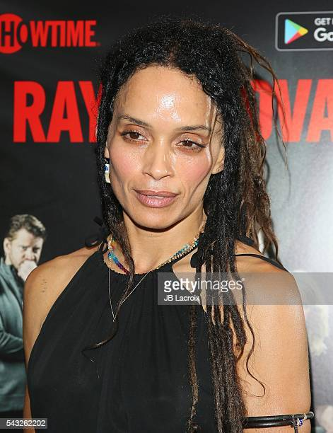 Lisa Bonet attends a viewing party for Showtime's 'Ray Donovan' on June 26 2016 in Santa Monica California